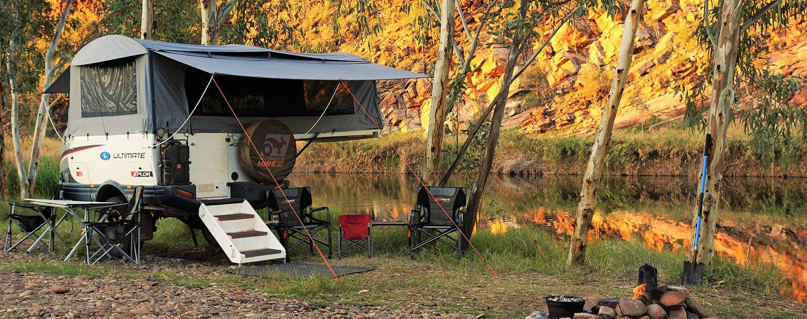 Hire Camper Trailer